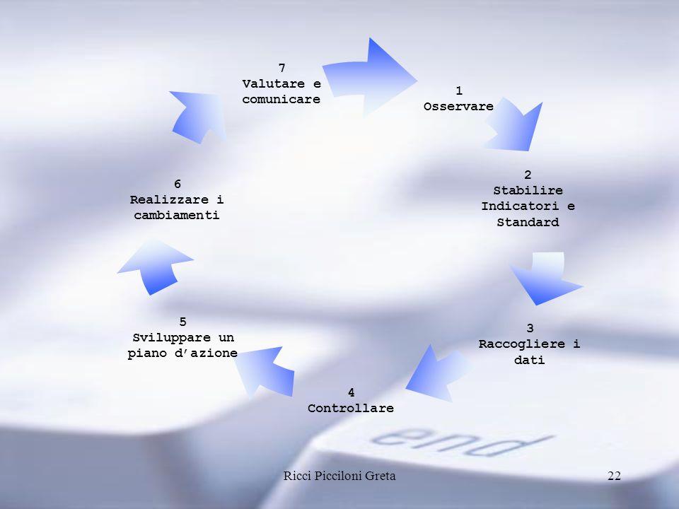 Stabilire Indicatori e Standard 6 Realizzare i cambiamenti