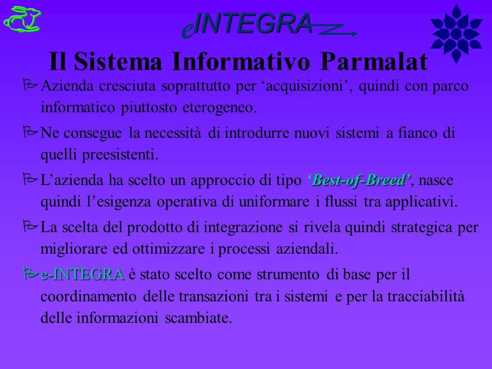 Il Sistema Informativo Parmalat