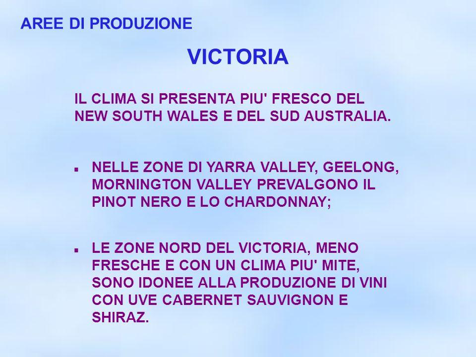 VICTORIA AREE DI PRODUZIONE