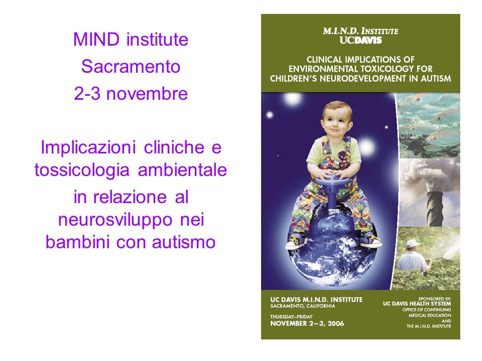 Implicazioni cliniche e tossicologia ambientale