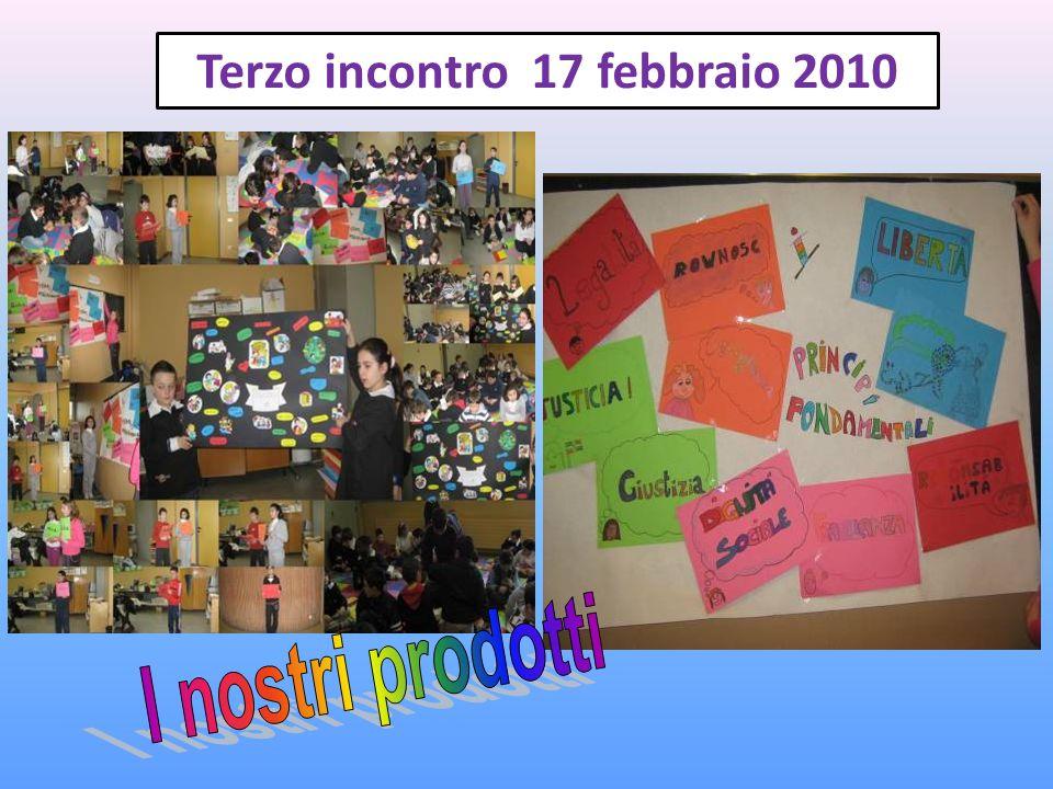 Terzo incontro 17 febbraio 2010