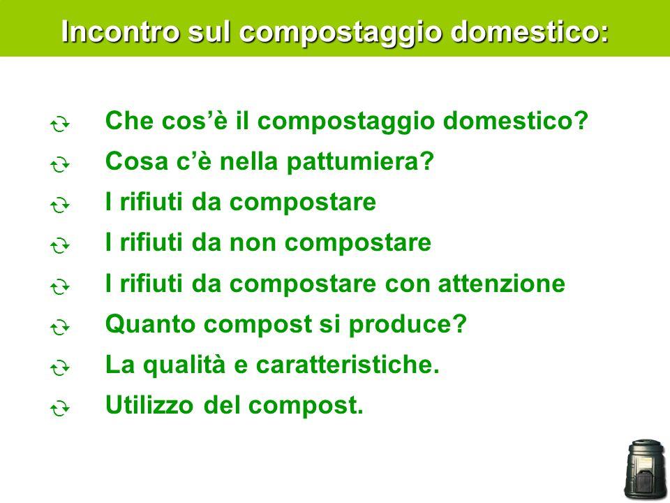 Incontro sul compostaggio domestico: