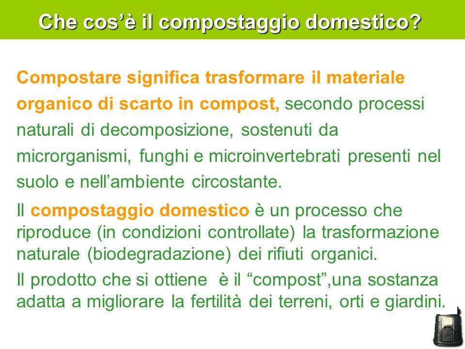 Che cos'è il compostaggio domestico