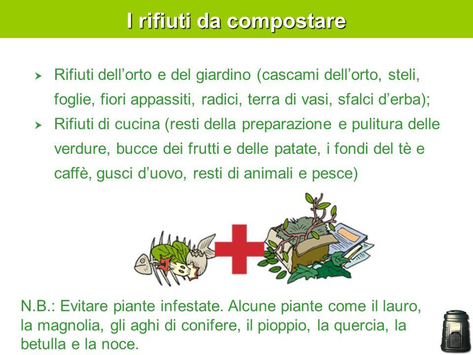 I rifiuti da compostare