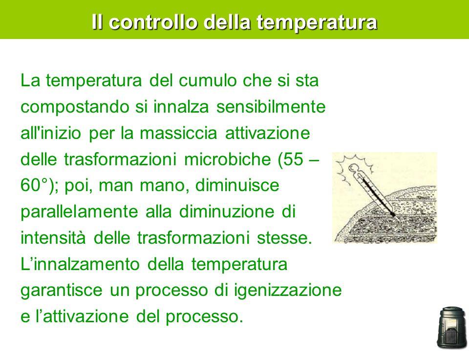 Il controllo della temperatura