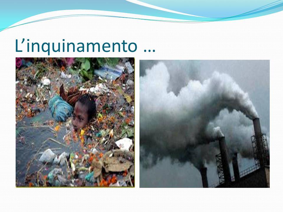 L'inquinamento …