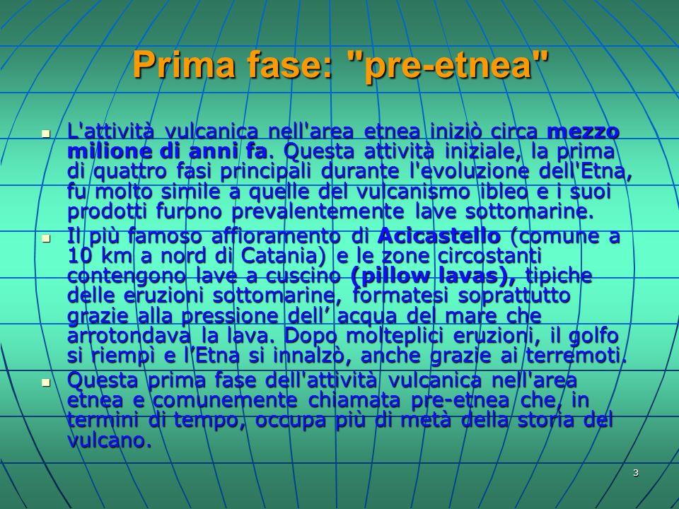 Prima fase: pre-etnea