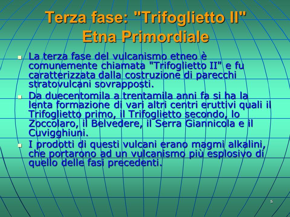 Terza fase: Trifoglietto II Etna Primordiale