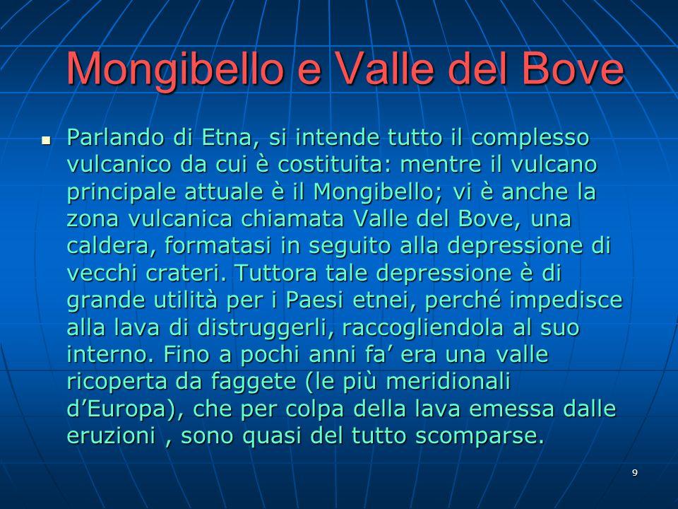 Mongibello e Valle del Bove