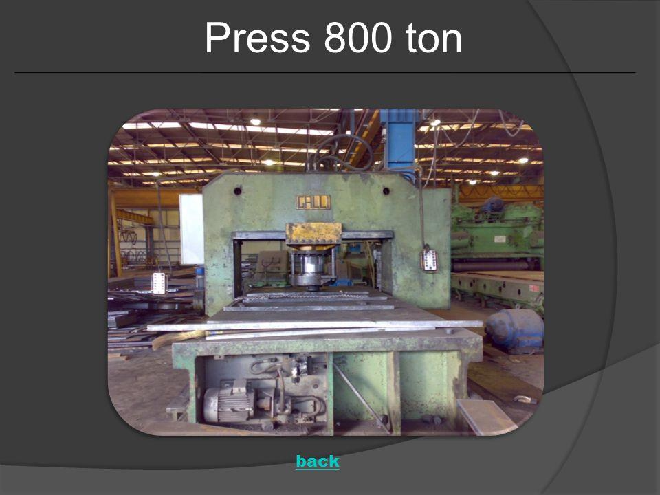 Press 800 ton back
