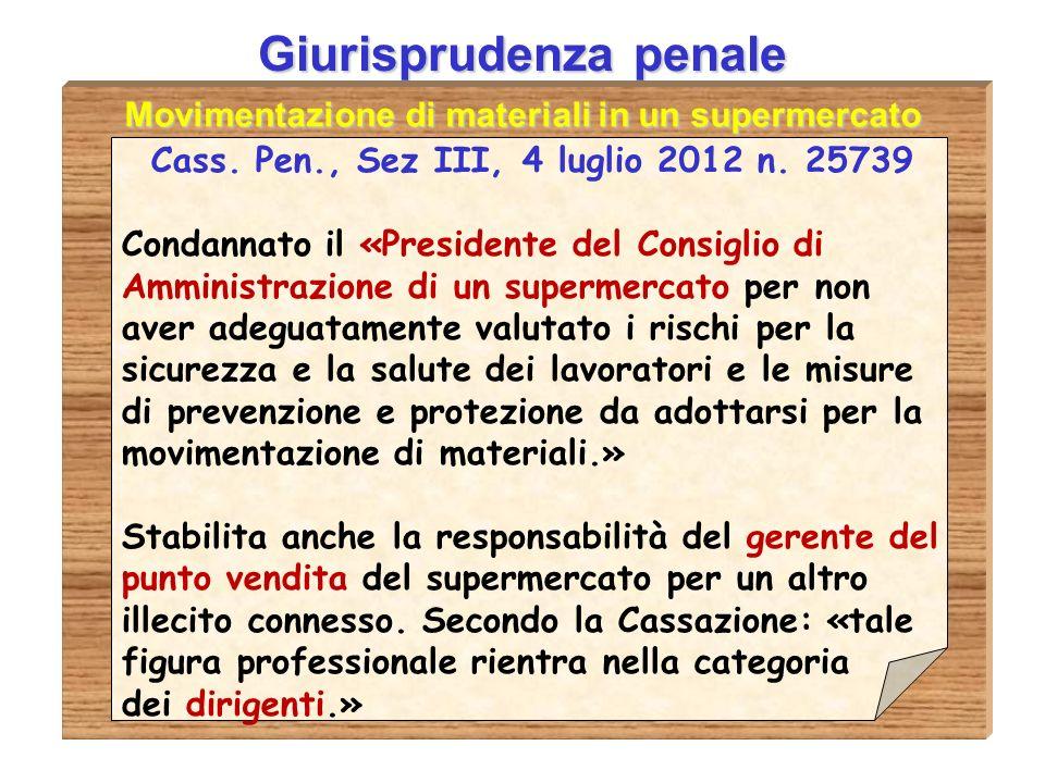 Giurisprudenza penale