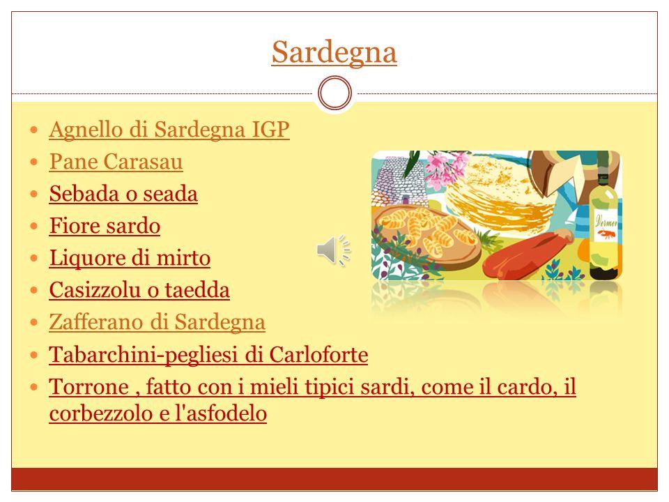 Sardegna Agnello di Sardegna IGP Pane Carasau Sebada o seada