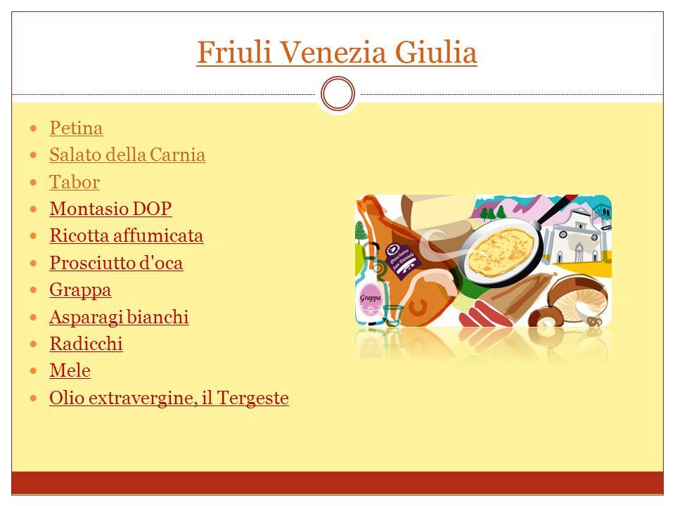 Friuli Venezia Giulia Petina Salato della Carnia Tabor Montasio DOP