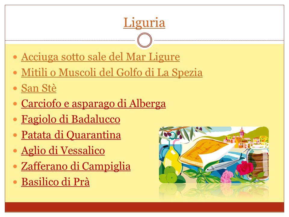 Liguria Acciuga sotto sale del Mar Ligure