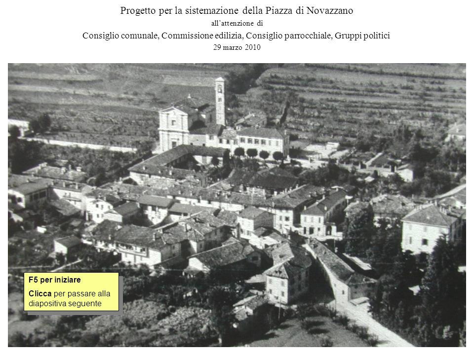 Progetto per la sistemazione della Piazza di Novazzano
