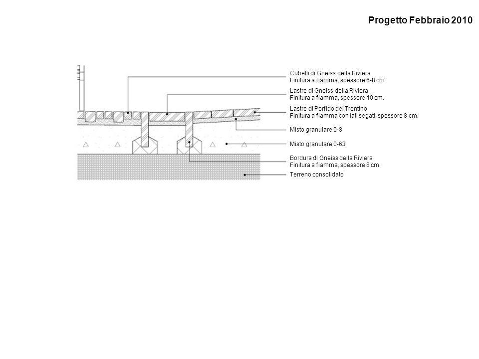 Progetto Febbraio 2010 Cubetti di Gneiss della Riviera