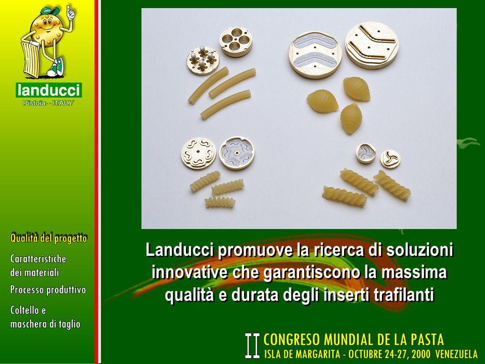 Landucci promuove la ricerca di soluzioni innovative che garantiscono la massima qualità e durata degli inserti trafilanti