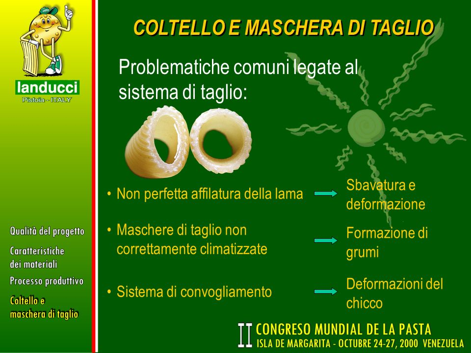 COLTELLO E MASCHERA DI TAGLIO