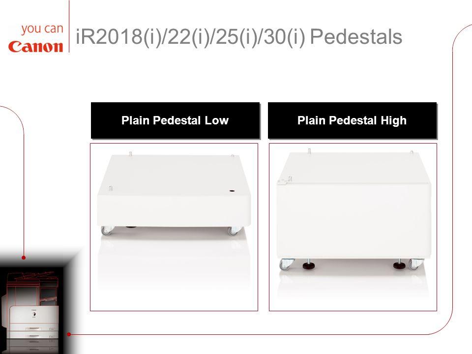 iR2018(i)/22(i)/25(i)/30(i) Pedestals