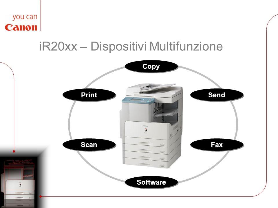 iR20xx – Dispositivi Multifunzione