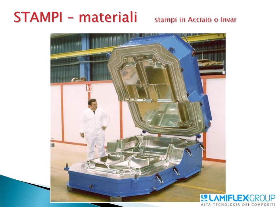 STAMPI – materiali stampi in Acciaio o Invar