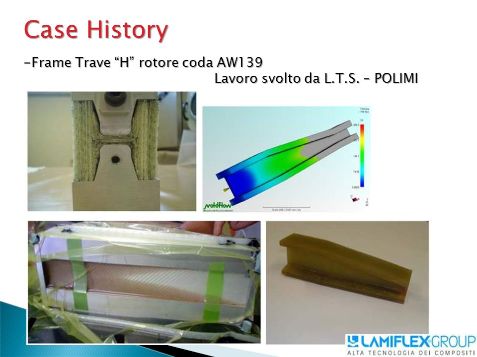 Case History Frame Trave H rotore coda AW139