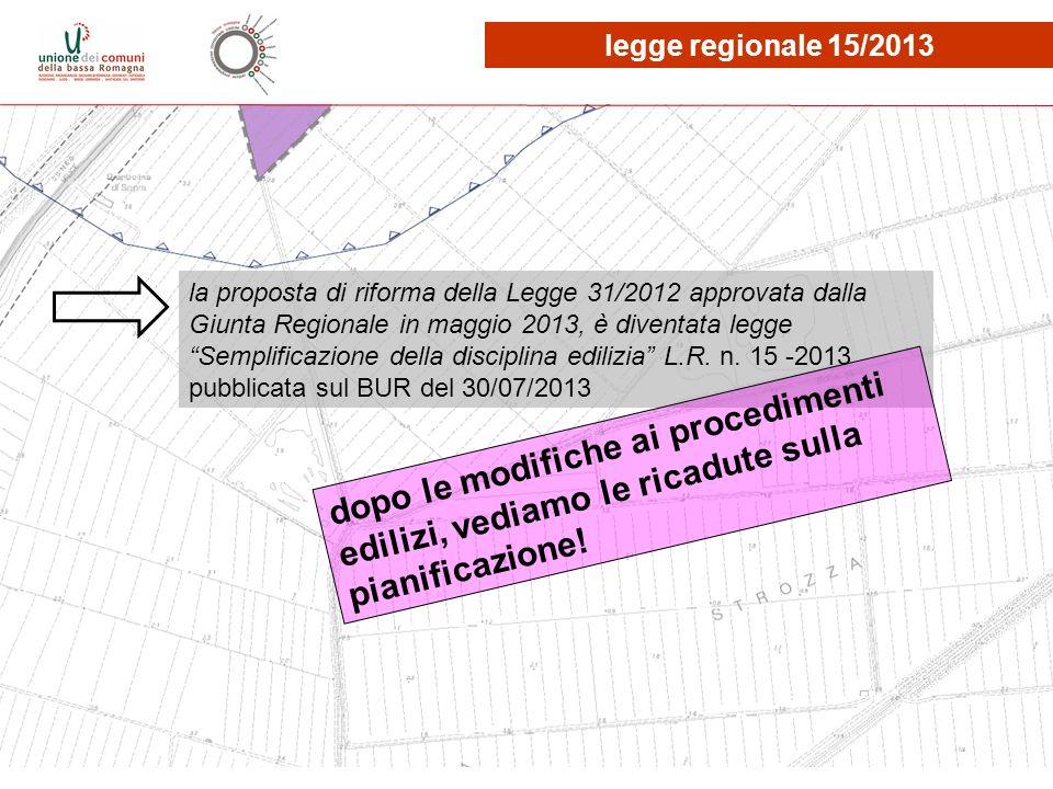 legge regionale 15/2013