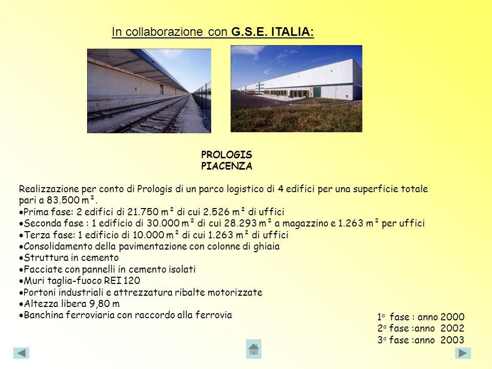 In collaborazione con G.S.E. ITALIA: