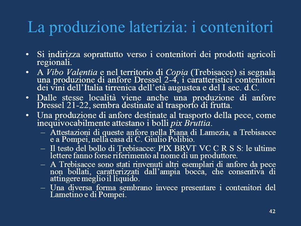 La produzione laterizia: i contenitori