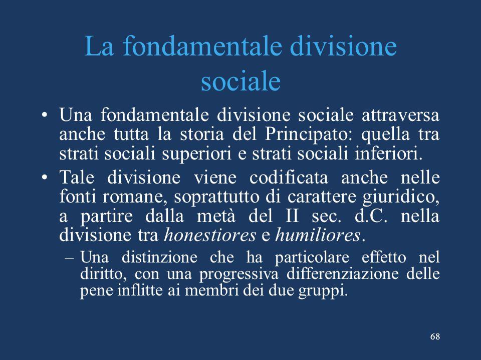 La fondamentale divisione sociale