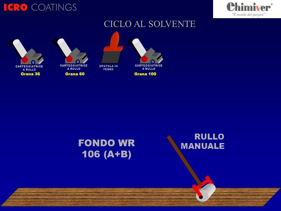 ICRO COATINGS CICLO CICLO AL SOLVENTE FONDO WR 106 (A+B)