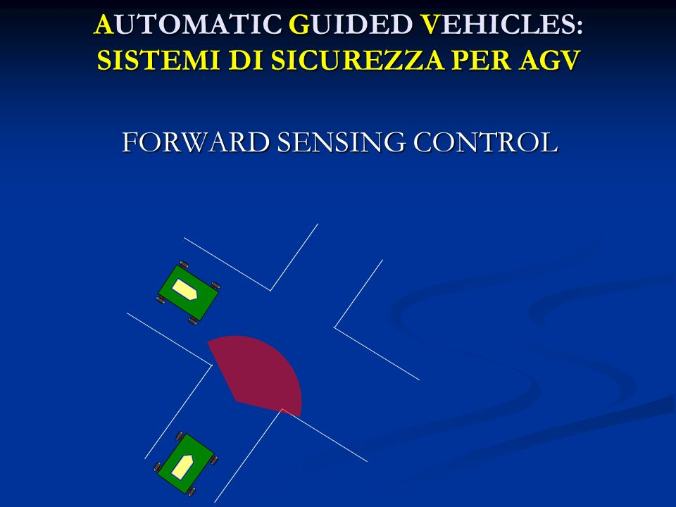 AUTOMATIC GUIDED VEHICLES: SISTEMI DI SICUREZZA PER AGV