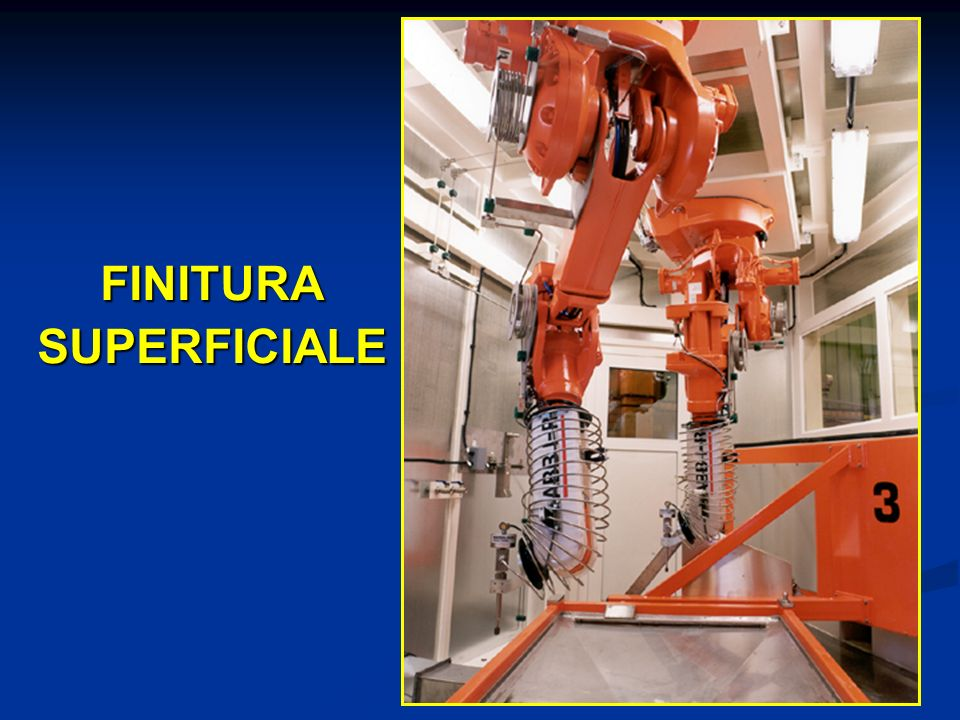FINITURA SUPERFICIALE