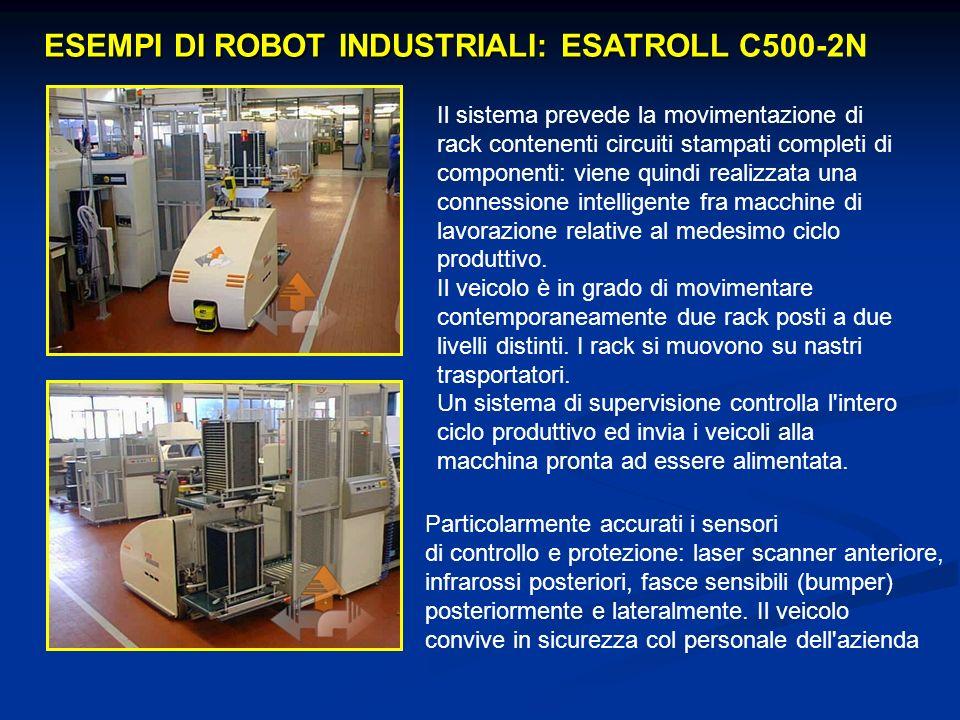 ESEMPI DI ROBOT INDUSTRIALI: ESATROLL C500-2N
