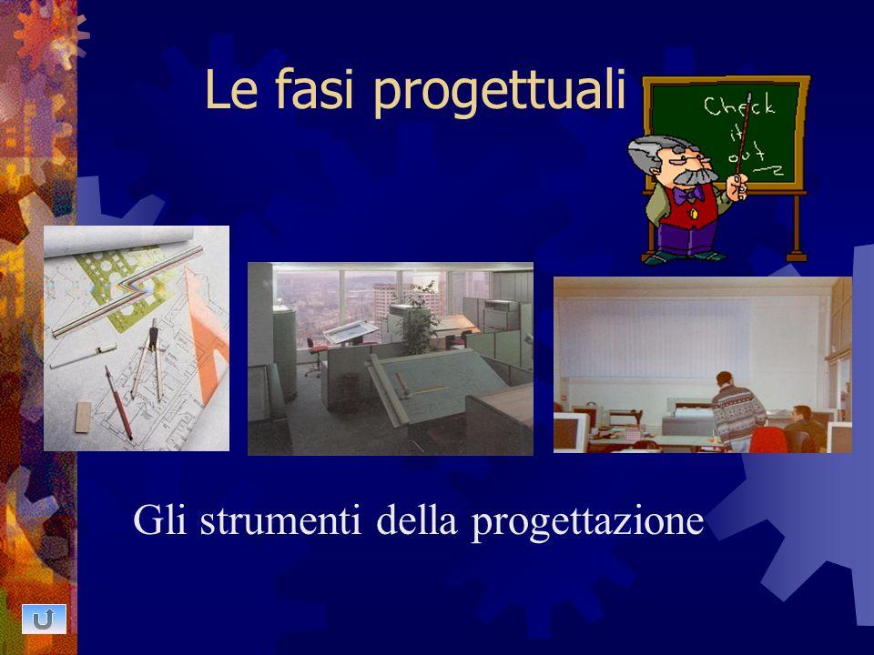 Le fasi progettuali Gli strumenti della progettazione