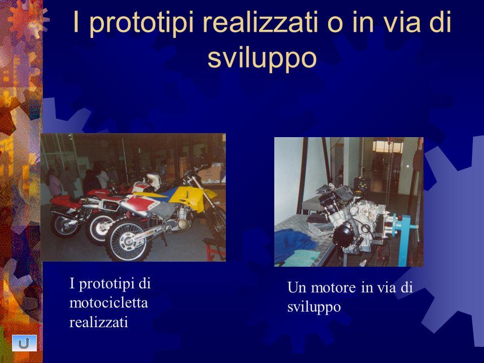 I prototipi realizzati o in via di sviluppo