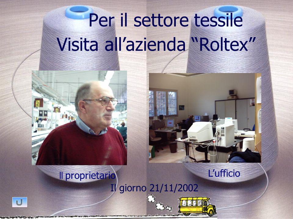 Visita all'azienda Roltex