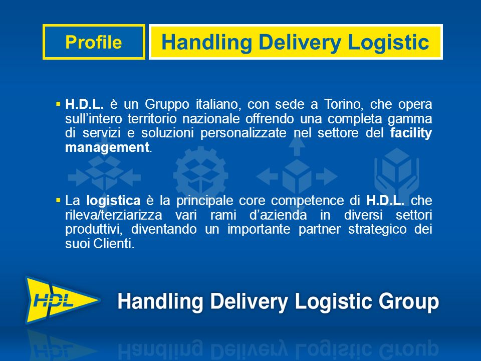 Handling Delivery Logistic