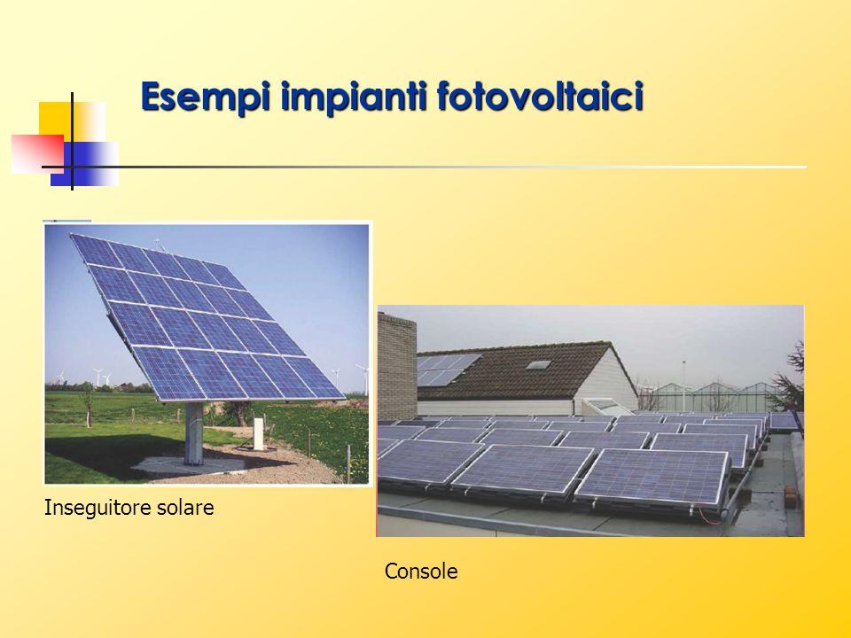 Esempi impianti fotovoltaici