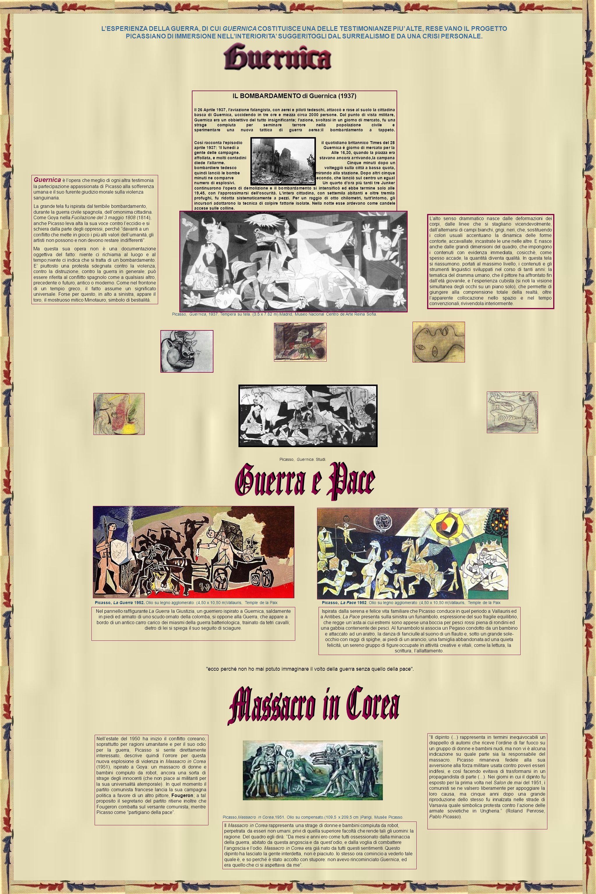 IL BOMBARDAMENTO di Guernica (1937)