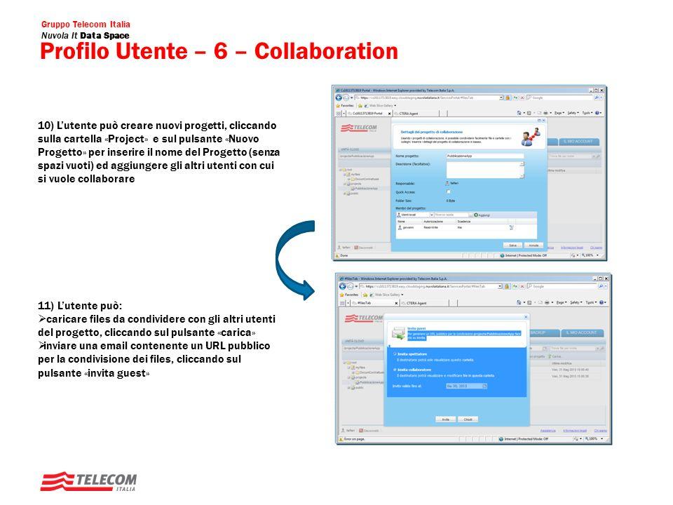Profilo Utente – 6 – Collaboration
