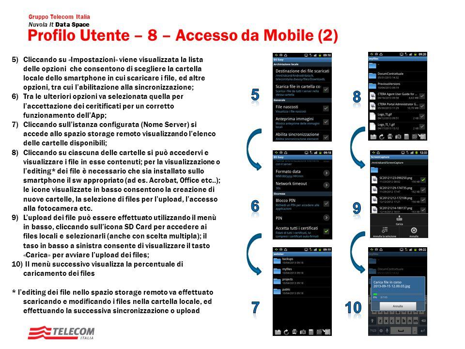 Profilo Utente – 8 – Accesso da Mobile (2)