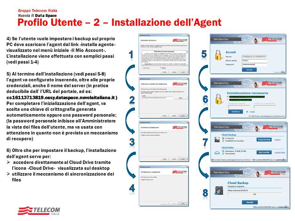 Profilo Utente – 2 – Installazione dell'Agent
