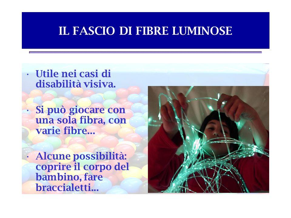 IL FASCIO DI FIBRE LUMINOSE