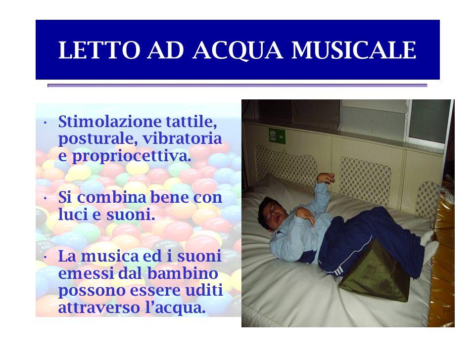 LETTO AD ACQUA MUSICALE