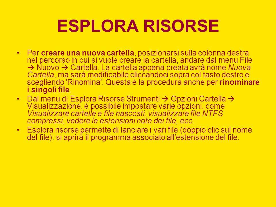 ESPLORA RISORSE