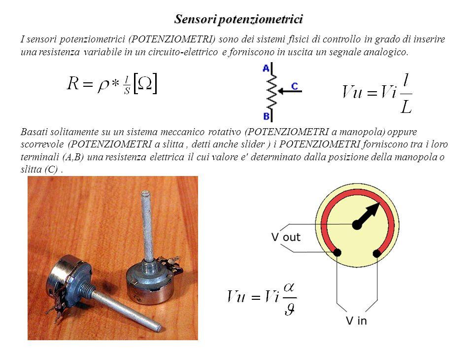 Sensori potenziometrici