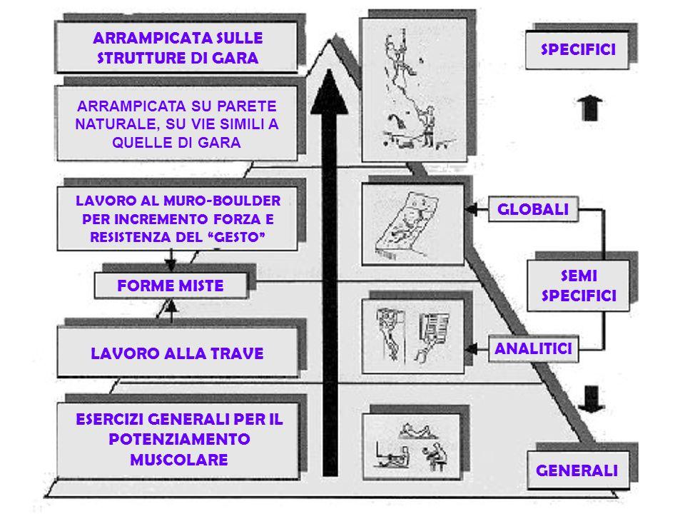 ARRAMPICATA SULLE STRUTTURE DI GARA SPECIFICI