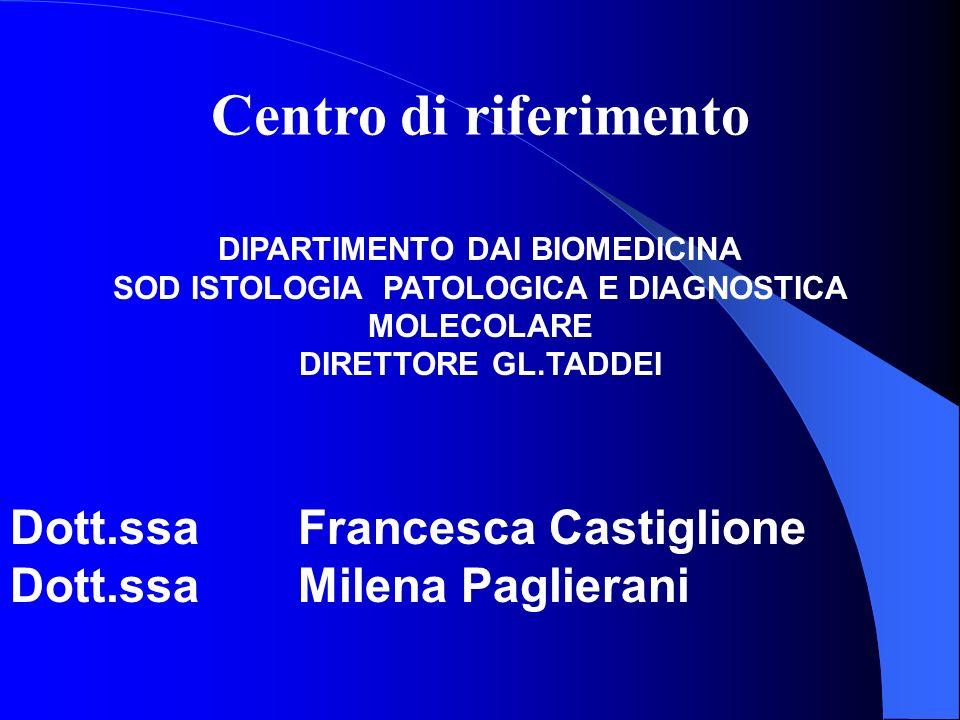 Centro di riferimento Dott.ssa Francesca Castiglione