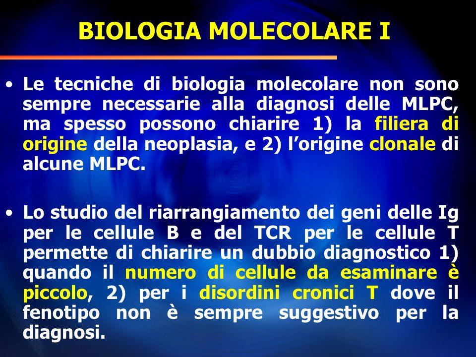 BIOLOGIA MOLECOLARE I